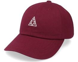 Essentials Tt Cv Hat Oxblood Dad Cap - HUF