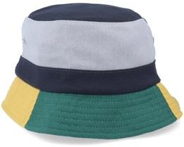 Meadows Navy/Green/Grey/Mustard Blazer Bucket - HUF