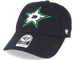 Dallas Stars Mvp Black Adjustable - 47 Brand