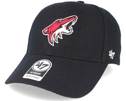Arizona Coyotes Mvp Black Adjustable - 47 Brand