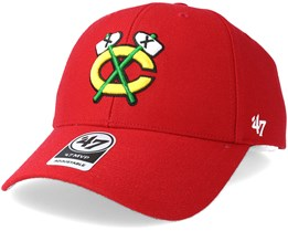 Chicago Blackhawks Mvp Red Adjustable - 47 Brand
