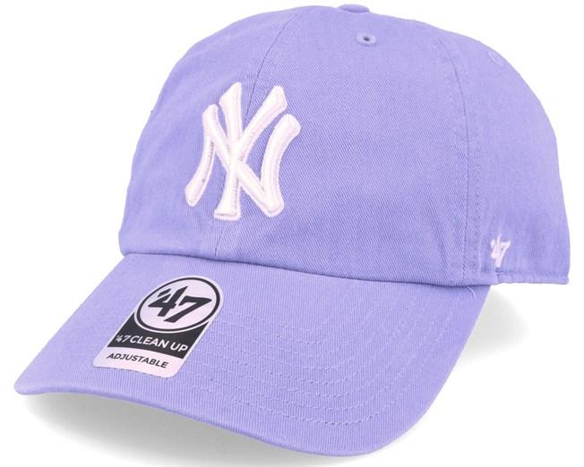 7fee8457bef New York Yankees Clean Up Lavender Purple Adjustable - 47 Brand caps -  Hatstorecanada.com