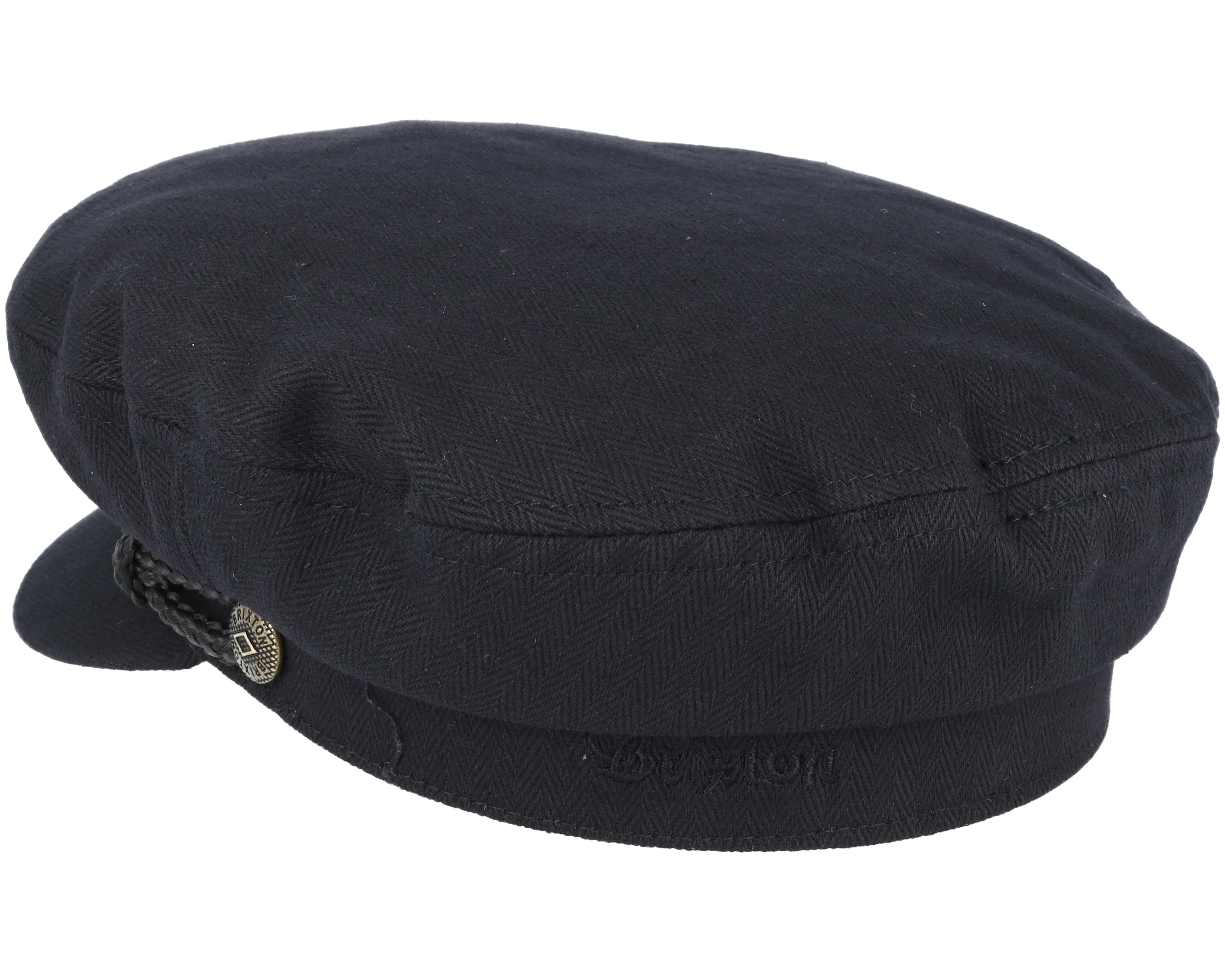 Fiddler Black Cap Brixton Caps Hatstoreworld Com
