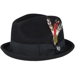14e8ddfbe1262 Manhattan Light Grey Fedora - Brixton hat - Hatstore.co.in