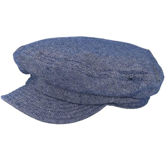 Fiddler Un Denim Flat Cap - Brixton cap - Hatstore.co.in 2d77dc767240