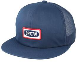Rockford Mesh Light Navy Trucker - Brixton