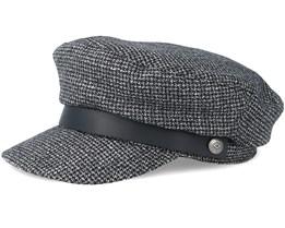Kurt Black/Grey Flat Cap - Brixton