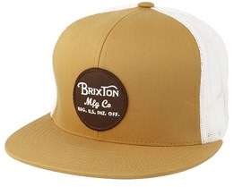 Wheeler Mesh Copper Snapback - Brixton