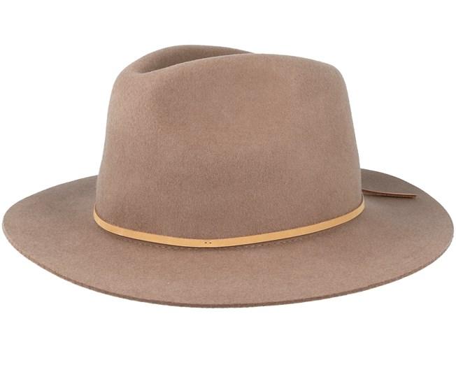 21c988bbf6a75 Wesley Sand Fedora - Brixton hats - Hatstoreworld.com