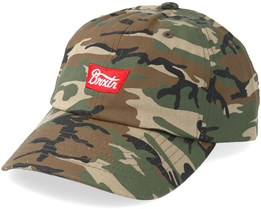 Stith Low Profile Camo Adjustable - Brixton