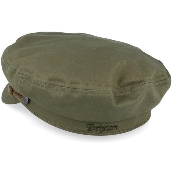 c83250a7d731c Fiddler Military Olive Flat Cap - Brixton caps