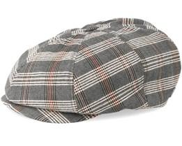 0b537d149f6 Brood Grey Tan Plaid Snap Cap - Brixton