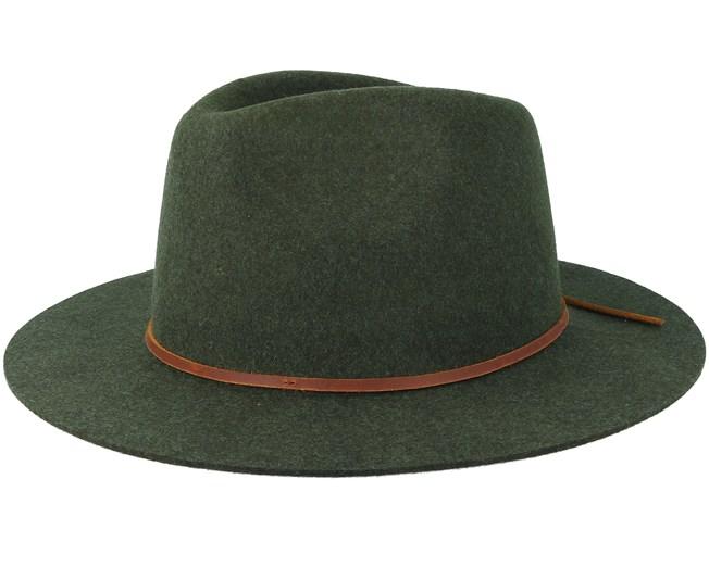 f9b14647e0669 Wesley Heather Green Fedora - Brixton hats - Hatstoreaustralia.com