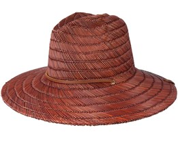 Bells Brown Straw Fedora - Brixton