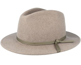 Coleman Heather Natural Fedora - Brixton