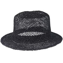 5b032a50 Stout Straw Black Pork Pie - Brixton hats | Hatstore.co.uk