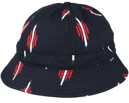 Banks II Bucket Black/Red Bucket - Brixton