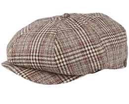 Brood Khaki Plaid Snap Cap - Brixton