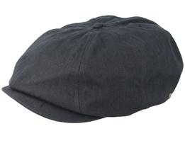 Brood Adjustable Washed Black Snap Cap - Brixton