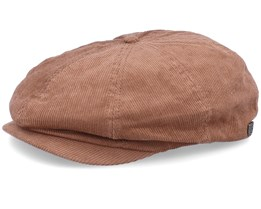 Brood Cord Bison Brown Snap Cap - Brixton