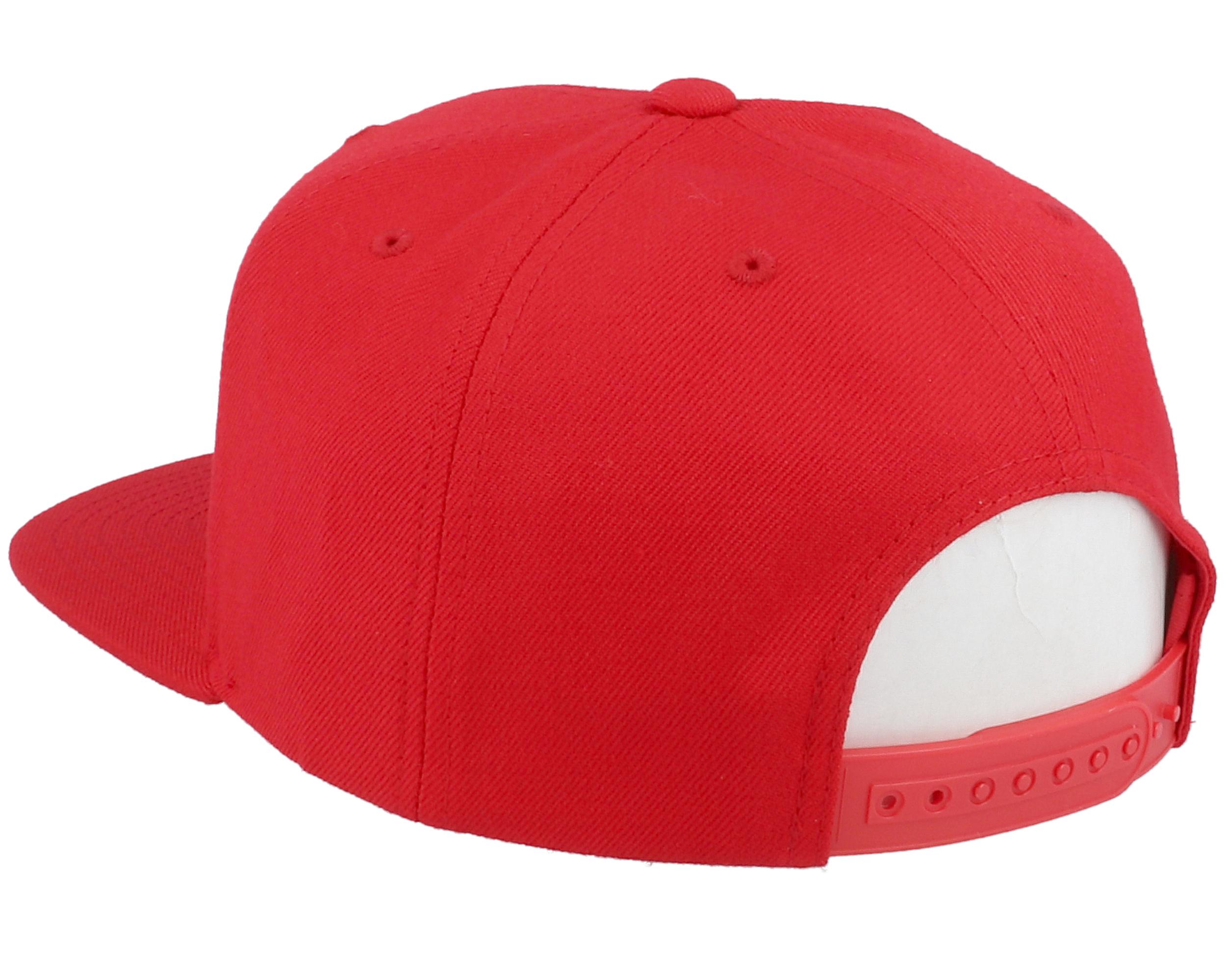 Palmer II MP Lava Red Snapback - Brixton caps