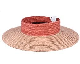Joanna Visor Safari/Autumn Straw Hat - Brixton