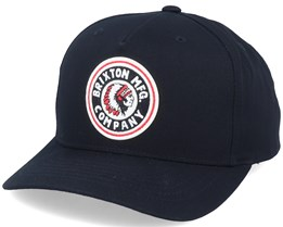 Hatstore Exclusive Rival C High Crown Black Adjustable - Brixton