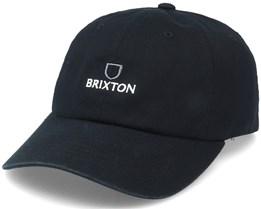 Alpha LP Dad Cap Black Adjustable - Brixton