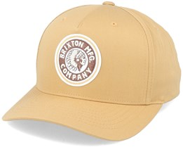 Hatstore Exclusive x Rival High Profile Dark Beige Adjustable - Brixton
