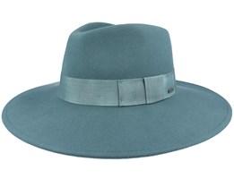 Joanna Felt Hat Silver Pine Fedora - Brixton