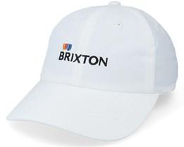 Stem Lp Cap White Dad Cap - Brixton