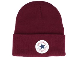 Cuck Patch Tall Maroon Cuff - Converse