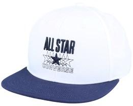 All Star Snapback White/Obsidian Snapback - Converse