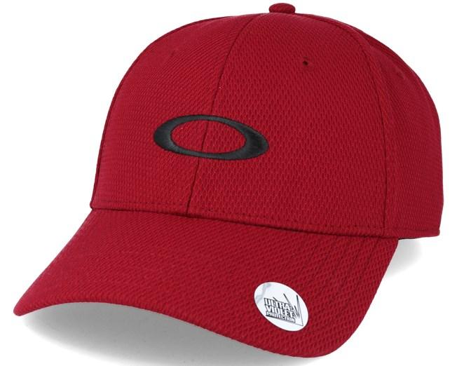 Golf Ellipse Red Adjustable - Oakley caps - Hatstoreworld.com a05ecdeaafc