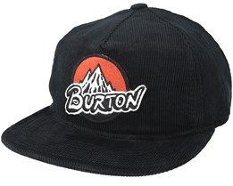 Boys Retro True Black Snapback - Burton
