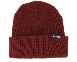 Warehouse Burgundy Beanie - Etnies