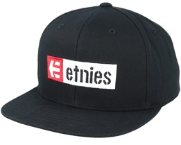 Corp Box Mix Black Snapback - Etnies