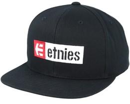 Corp Box Mix Black Snapback - Etnies
