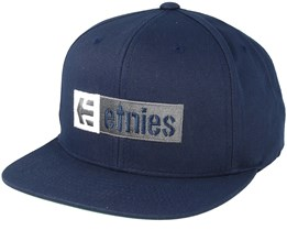 Corp Box Mix Dark Navy Snapback - Etnies
