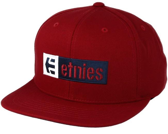 b66644756c1 Corp Box Mix Red Snapback - Etnies caps - Hatstoreaustralia.com