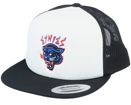 Panther Snapback White/Black Trucker - Etnies