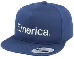 Pure Navy Snapback - Emerica