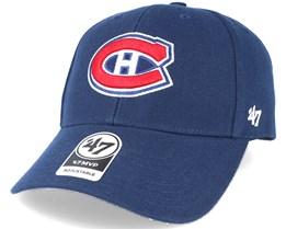 Montreal Canadiens Mvp Navy Adjustable - 47 Brand