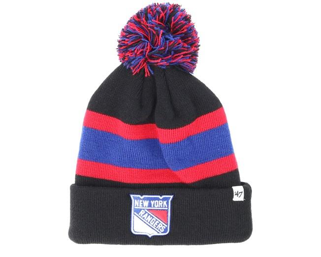 dedbdae6d New York Rangers Breakaway Knit Black Pom - 47 Brand beanies ...