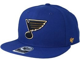 St. Louis Blues Sure Shot Royal Snapback - 47 Brand