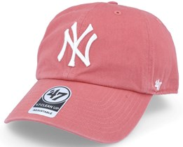 d87976e3f0afd New York Yankees Clean Up Red Adjustable - 47 Brand