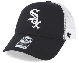 hot sale online cdc70 df9cb Chicago White Sox Branson Black Trucker - 47 Brand