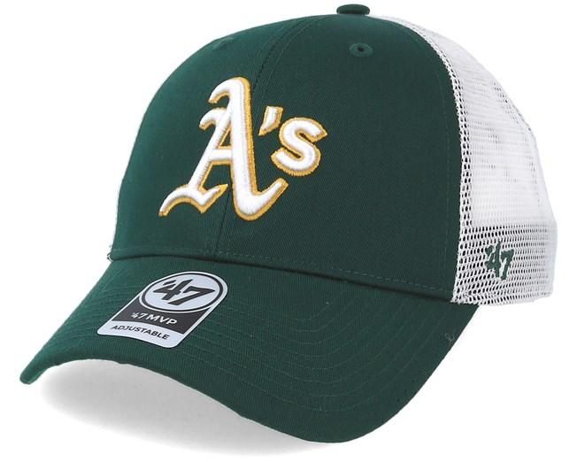 91616d8746b23 Oakland Athletics Branson Green Trucker - 47 Brand caps -  Hatstoreaustralia.com