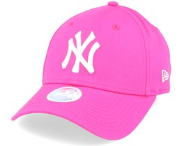 NY Yankees Womens Pink/White 9Forty - New Era