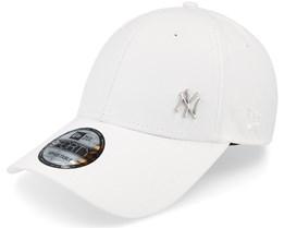 NY Yankees Flawless White 940 Adjustable - New Era